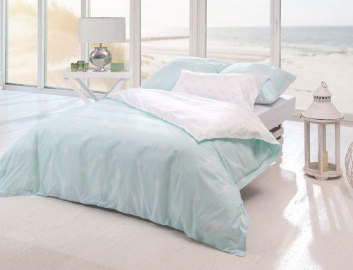 Die Sanddollar Bettwäsche aus feiner Perkal Baumwolle